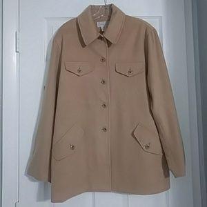Saks Fifth Avenue Wool/Cashmere Jacket Blazer